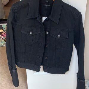 J Brand black jean jacket -NWT